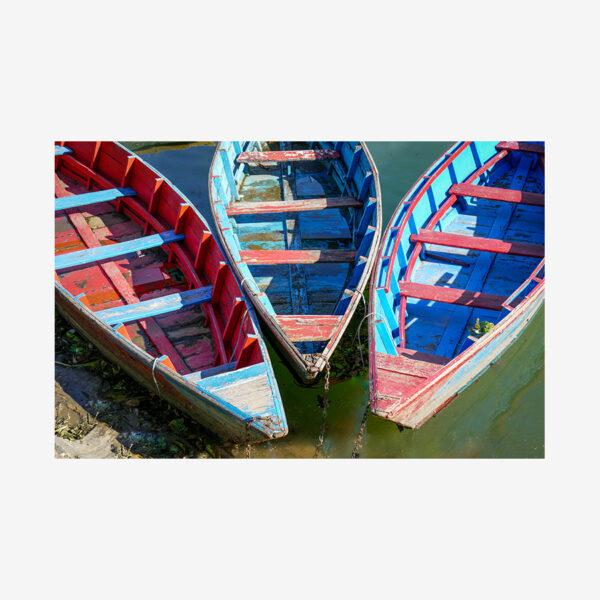 Three Row Boats, Bhutan