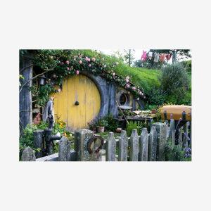 Yellow Door Hobbit Home, New Zealand