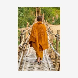 Monk Bridge, Laos